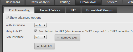Configuring an Ubiquity EdgeRouter as a plain old DHCP